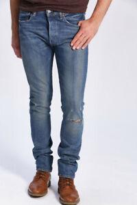 New-Men-039-s-LEVI-039-S-501-S-Skinny-Jeans-W31-L34-Jambe-Fizzy-34268-0014-Stretch