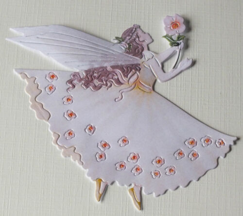 x10 250gsm Tattered Lace Charisma Periwinkle Fairy Die Cuts-10 Colours//Mixed etc