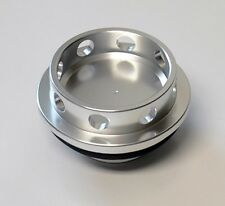 8 Hole Anodized Silver Aluminum JDM Oil Filler Cap FITS Nissan & Infiniti