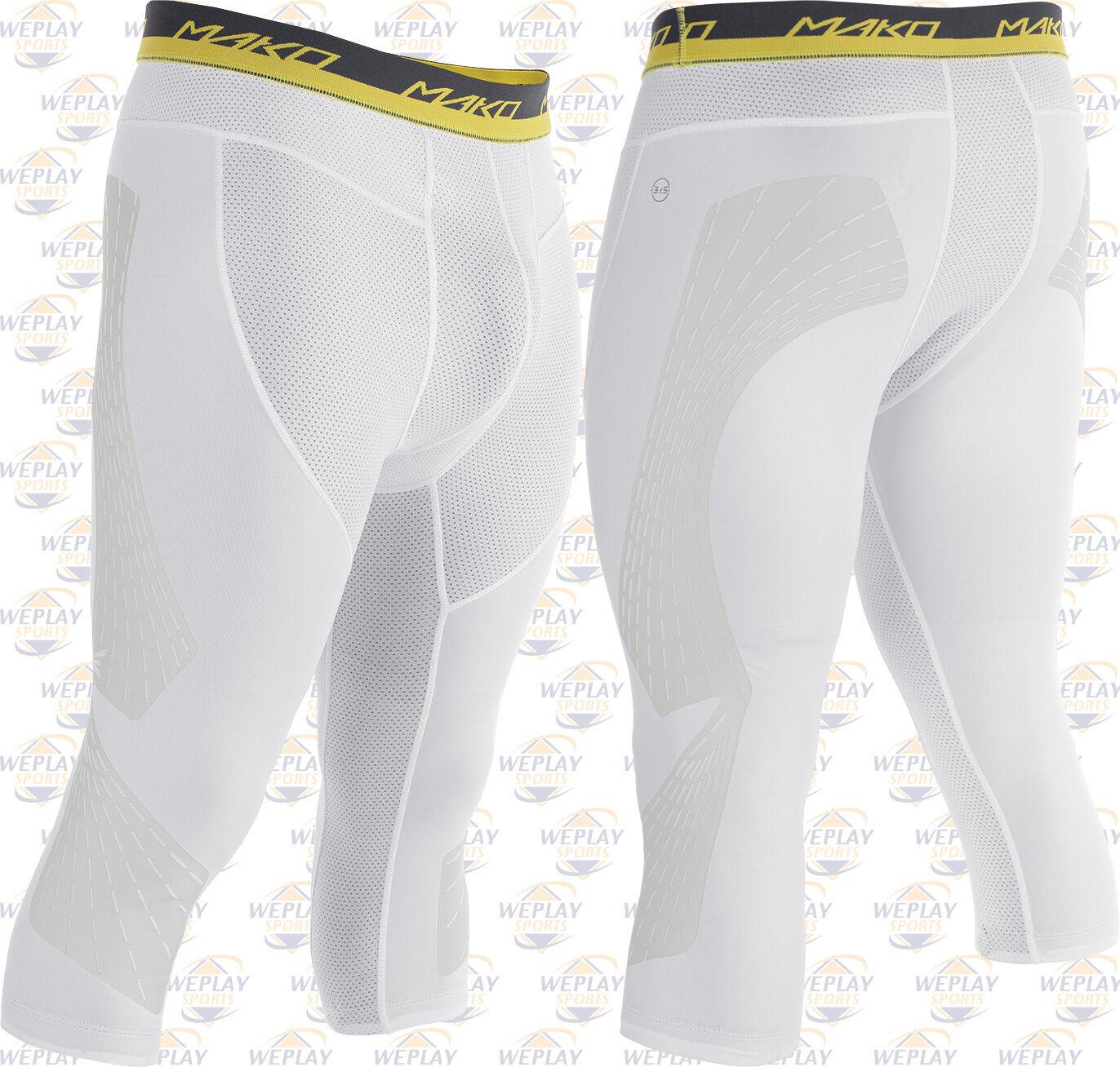 Easton Mako Adulto para Hombre de  Béisbol 3 4 Largoitud pantalones cortos de deslizamiento A167916-blancoo  tienda de pescado para la venta