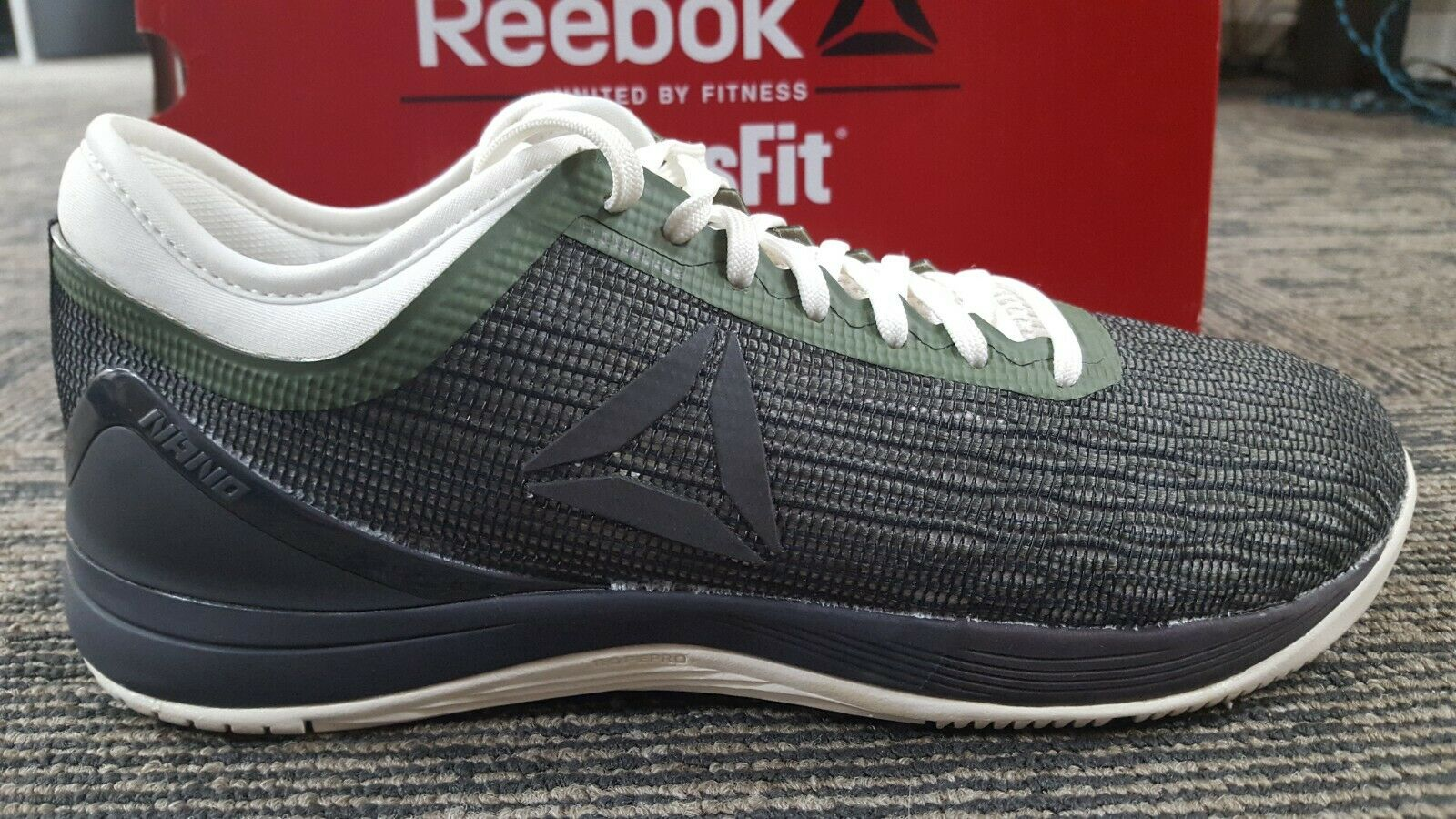 Reebok Crossfit Nano 8 Toile Chaussure-Femme Formation SKU CN10430 Taille 10