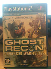 Ghost Recon advanced Fighter Sony PlayStation 2 Used