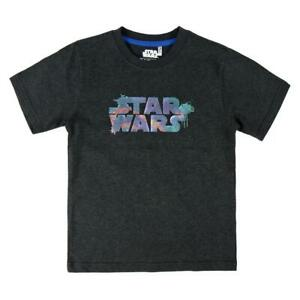 Disney Star Wars Kurzarmshirt Jungen Shirt Kinder T-Shirt Neu 3-10 Jahre 98-140.