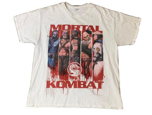 VTG Mortal Kombat Warner Bros Movie Promo T Shirt