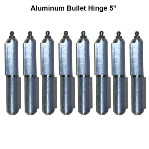 "Heavy duty aluminum hinge Lot 4 Pair 5/"" Body Bullet Stainless Steel Bushing"