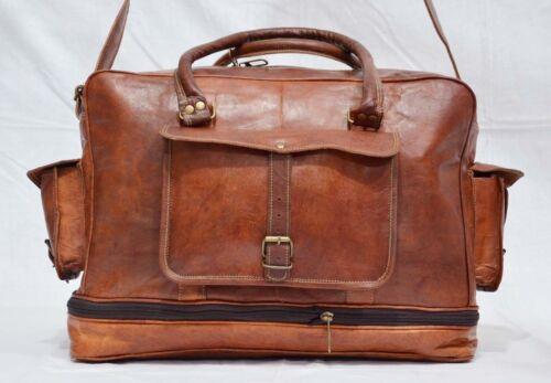 cuir vintage mainsac fait Grand la sac en end de sportnuitvoyageweek à main à tCQrxshd