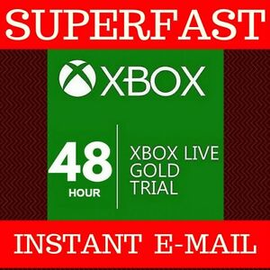 XBOX-LIVE-48-HR-HOUR-2-DAY-TRIAL-CODE-360-ONE-WORLDWIDE