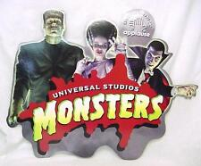 Universal Monster Vintage Store Display Sign Dracula Frankenstein Bride