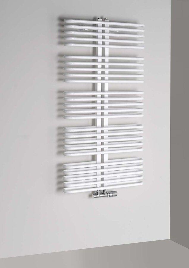 Badheizkörper 600x1170 mm, 850 W, weiß
