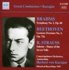 Brahms: Symphony No. 1; Beethoven: Leonore Overture No. 3; R. Strauss: Salome - Dance of the Seven V (2008)