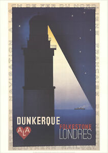A-M-Cassandre-SS-Dunkerke-Londres-1998-Poster