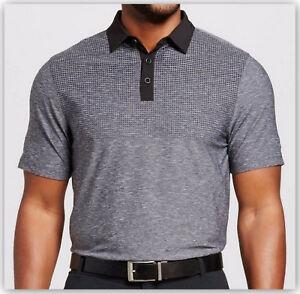 7a09d5ddb99a38 Champion C9 Men s Printed Golf Polo Shirt Size S   XL Charcoal ...