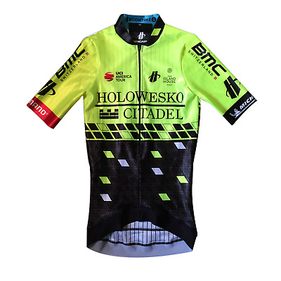 Black Men/'s 2017 Hincapie Racing Team Velocity LS Cycling Jersey Size M EUC