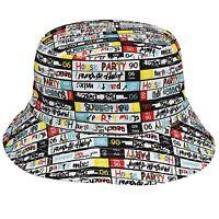 Kangol Mix Tape Reversible Bucket Hat