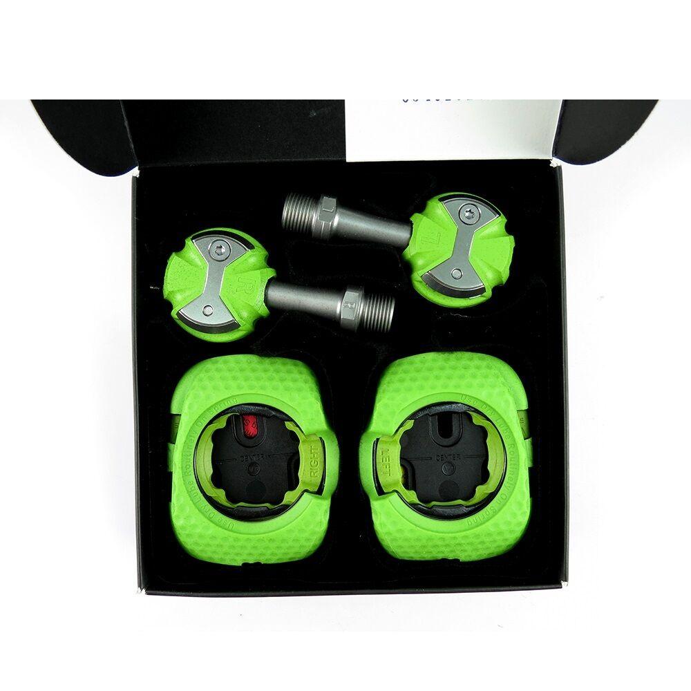 Speedplay ZERO Stainless Steel Road Bike Pedal  3holes Walkable Cleats  verde