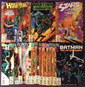 Day-of-Judgement-joblot-of-17-issues-DC-1999-17-x-High-grade-issues