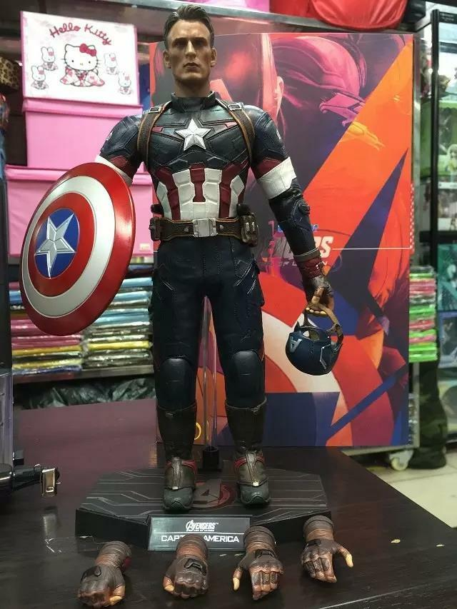 Avengers Age Of Ultron Captain America Movable PVC Action Figure Model Toy