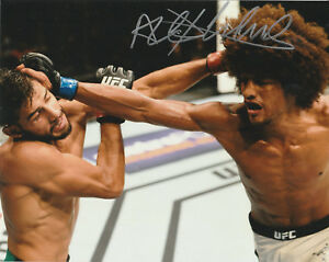 Details about ALEX BRUCE LEE ROY CACERES SIGNED AUTO'D 8X10 PHOTO UFC 199  165 FIGHT NIGHT B