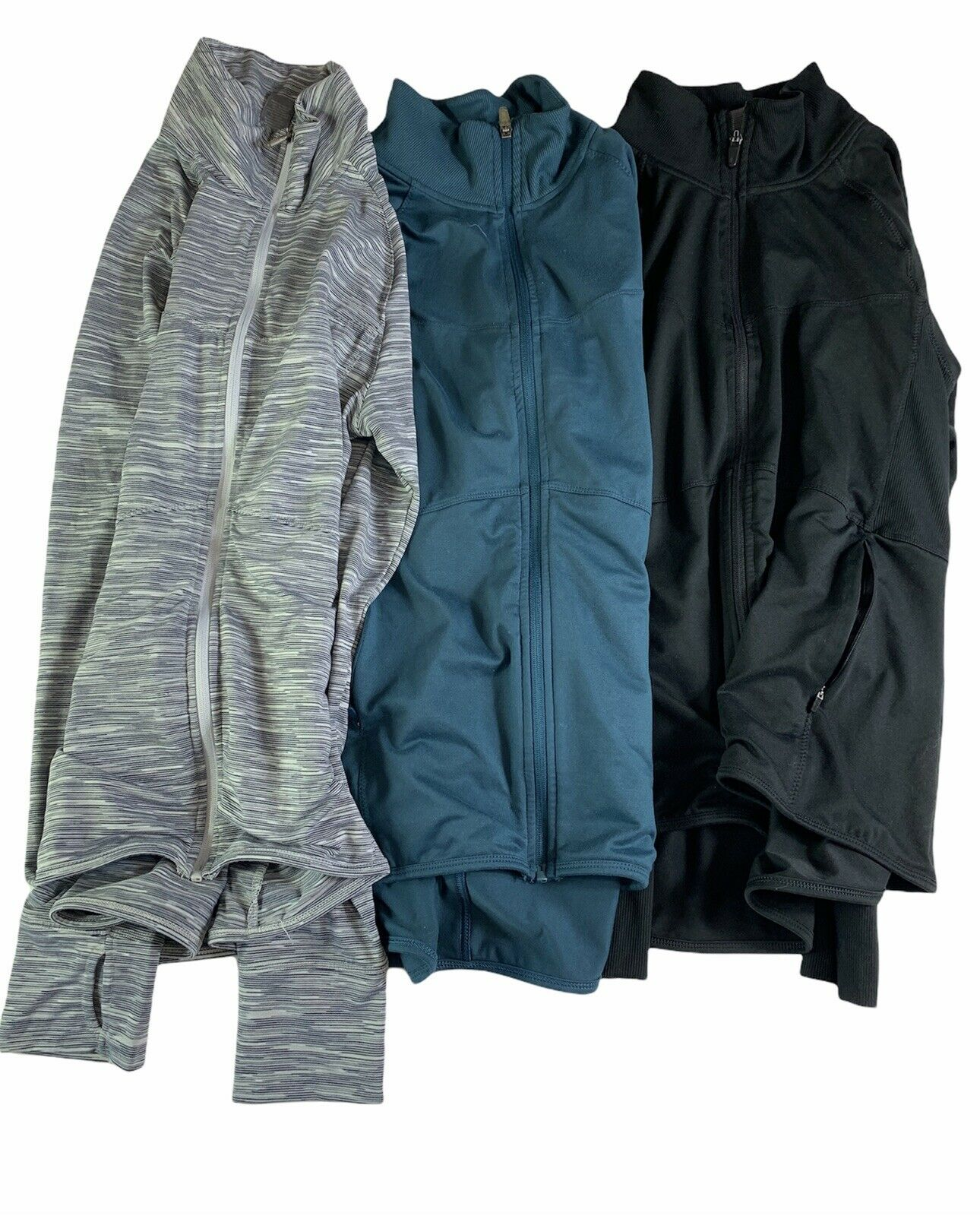Champion C9 Lot of 3 Womens Full Zip Athletic jackets Large