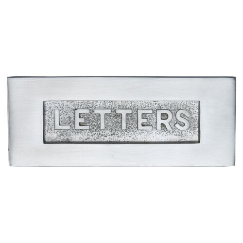 Letter Box with Embossing Various Finishes Traditional Letter Plate