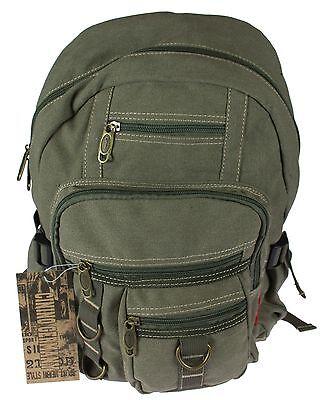 Cosciente Canvas Cininio Zaino Zaino Da Viaggio Backpack Zaino Borsa Scuola Tempo Libero-mostra Il Titolo Originale