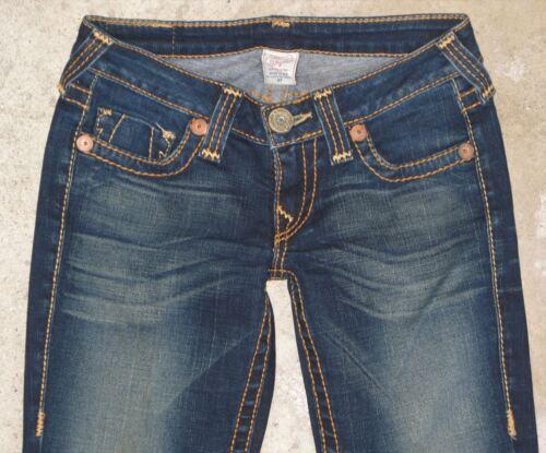 Bootcut Womens Sz Distressed Dark T Religion True 27 Low Bobby Big Jeans Z5AzZgSn