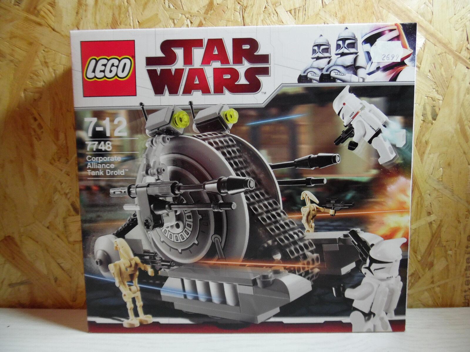 LEGO Star Wars / Corporate Alliance Tank Droid / 7748 / Neu und OVP