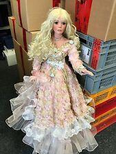 Rustie Puppe 035 / 100 Porzellan Puppe 92 cm. Top Zustand