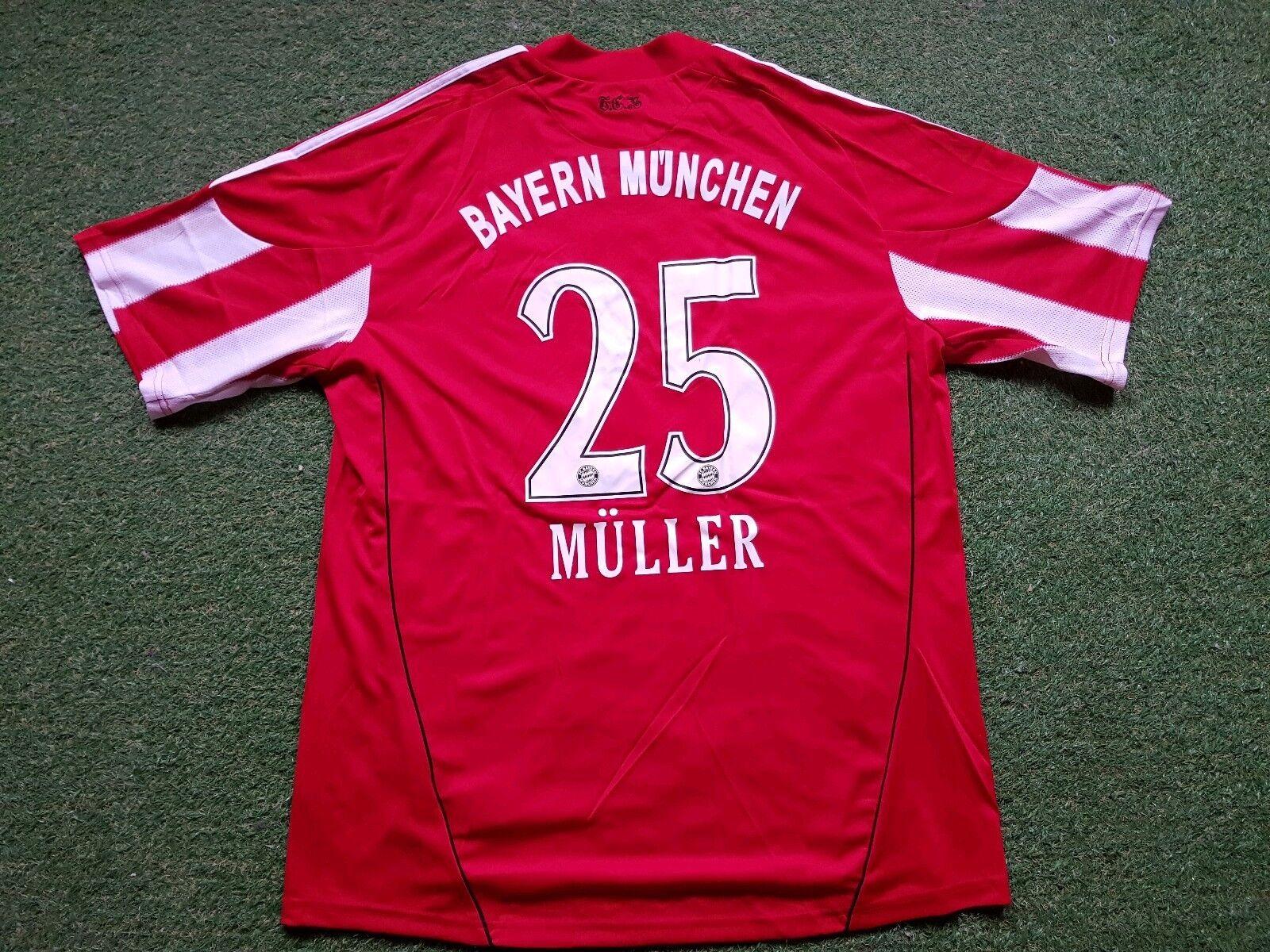 FC Bayern München Maglia XL 2011 Adidas Maglietta Jersey monaco di Baviera T