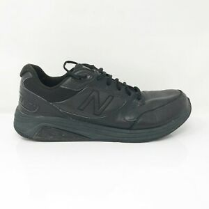 New-Balance-Mens-928-V3-MW928BK3-Black-Running-Shoes-Lace-Up-Low-Top-Size-11-5-D