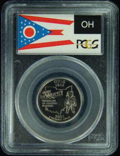 2002-S PCGS PR69DCAM Ohio Statehood Quarter