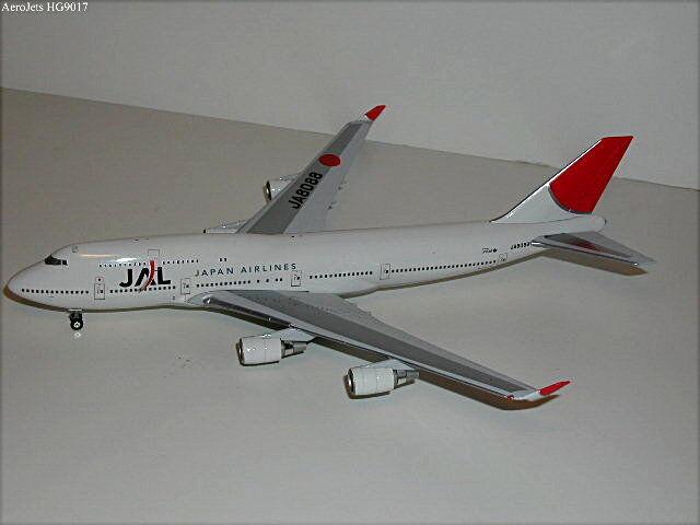 JAL B747-400  JA8088  , 1:300 Hogan RARE