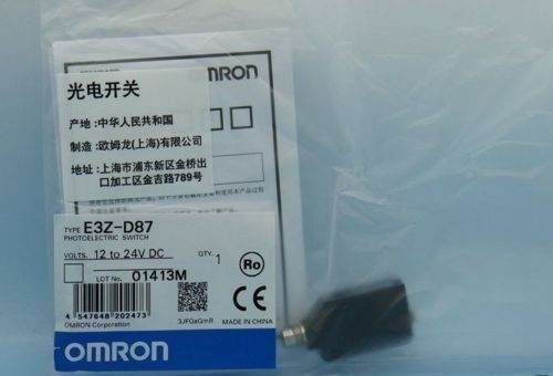 1PC NEW Omron Photoelectric Switch E3Z-D87