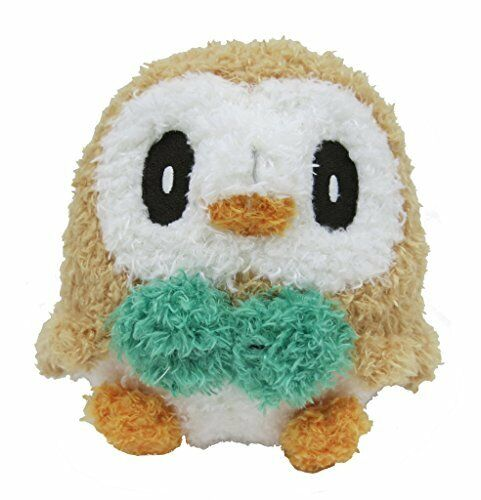 Sekiguchi-Pokemon-Rowlet-Mokomoko-Plush-Doll