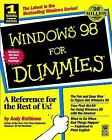 Windows® 98 for Dummies® by Andy Rathbone (1998, Paperback)