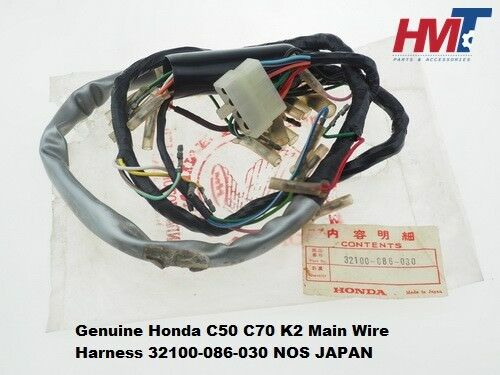 honda s90 wiring wire harness nos Honda Motorcycle Wiring Harness