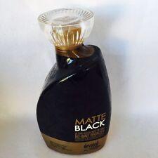 2017 Devoted Creations Matte Black Sleek Bronzer Tanning Bed Lotion