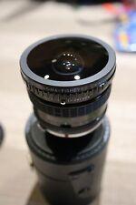 Sigma 8mm f/4 Fisheye Lens Olympus OM Mount + EOS EF Adapter