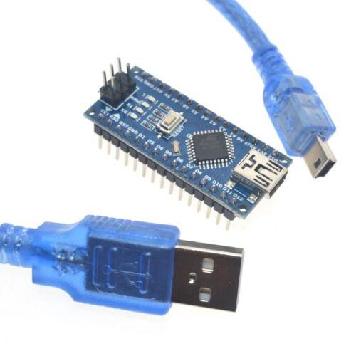 USB cable For arduino Nano V3.0 controller ATMEGA328P ATMEGA328 original CH340