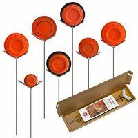 Clay Pigeon Target Holders Pack Of 7 - Will Fit Any Clay Targets Shooting Range on sale