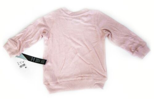 Afton Street Girls Sweater Sweatshirt Long Sleeve Pink Soft Size 3T Toddler