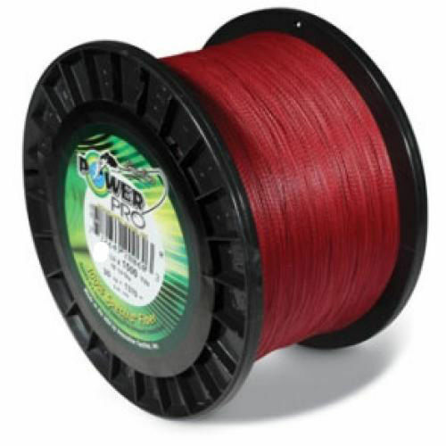 Power Pro USA Spectra Braid Fishing Line 40lb 1500yd 18kg 1370m RED 40-1500v