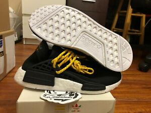 pretty nice e9744 e2ba7 Details about Adidas NMD Pharell Williams Human Race Black sz 7.5 BB3068 DS  100% Authentic