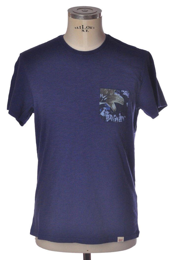 Woolrich - Topwear-T-shirts - mann - Blau - 812418C183747