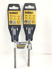2 Dewalt Masonry Dw5424 516 X 4 X 6 Carbide Sds Plus Hammer Drill Bit