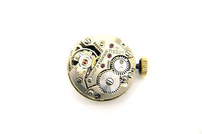 Tissot Handaufzug Uhrwerk - Kaliber 709 - Inkl. Zifferblatt Und Zeiger