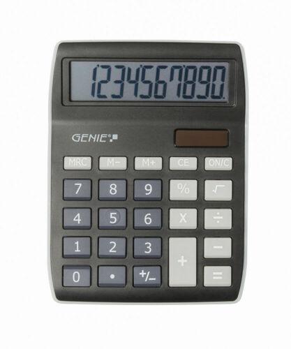 GENIE 840BK Solar Tischrechner Rechenmaschine Rechner Bürorechner Taschenrechner