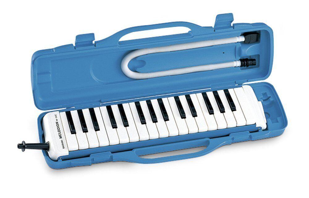 SUZUKI Melodion Melodica M-32C Keyboard harmonica Alto 32 keys f-c3 Japan