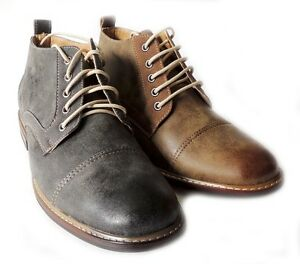 674f37228b73 Details about FERRO ALDO MENS ANKLE BOOTS DRESSY CASUAL LEATHER LINED  CHUKKA LACE UP SHOES