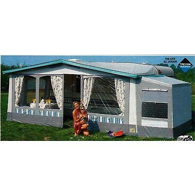 Wohnwagenvorzelt, Vorzelt, Zelt, Mosel Gr. 2 - Umlaufmaß (711-750 cm)